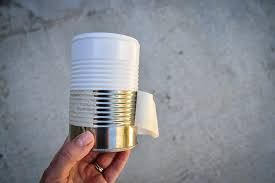 Image result for painted tin cans