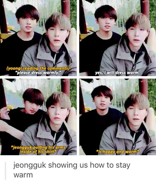 BTS Jungkook and Suga V app Live