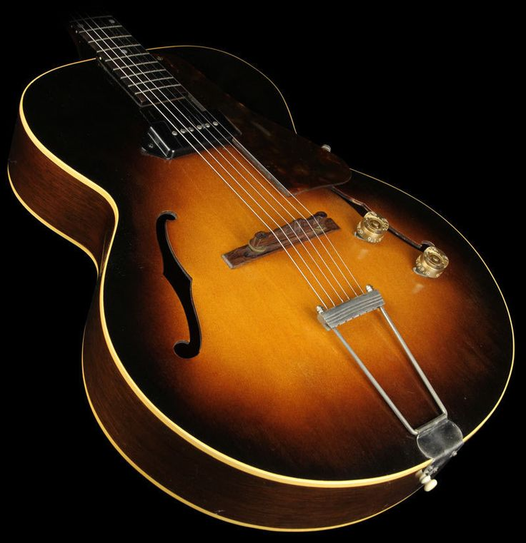 1950 gibson es 125 musical inspiration pinterest. Black Bedroom Furniture Sets. Home Design Ideas