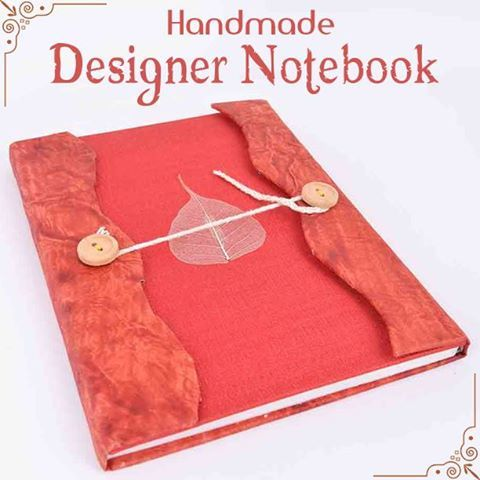 Indianshelf New Handmade Designer Notebook - Shop at https://Indianshelf.in #‎notebook #‎handmadenotebook