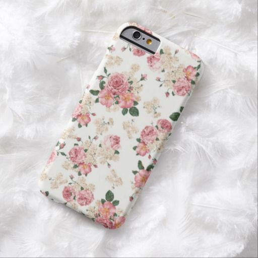 Cute iPhone 6 Case! This Pastel Floral iPhone 6 case can be personalized or purchased as is to protect your iPhone 6 in Style!