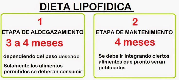 DIETA LIPOFIDICA CHILENA : EN QUE CONSISTE LA DIETA LIPOFIDICA?