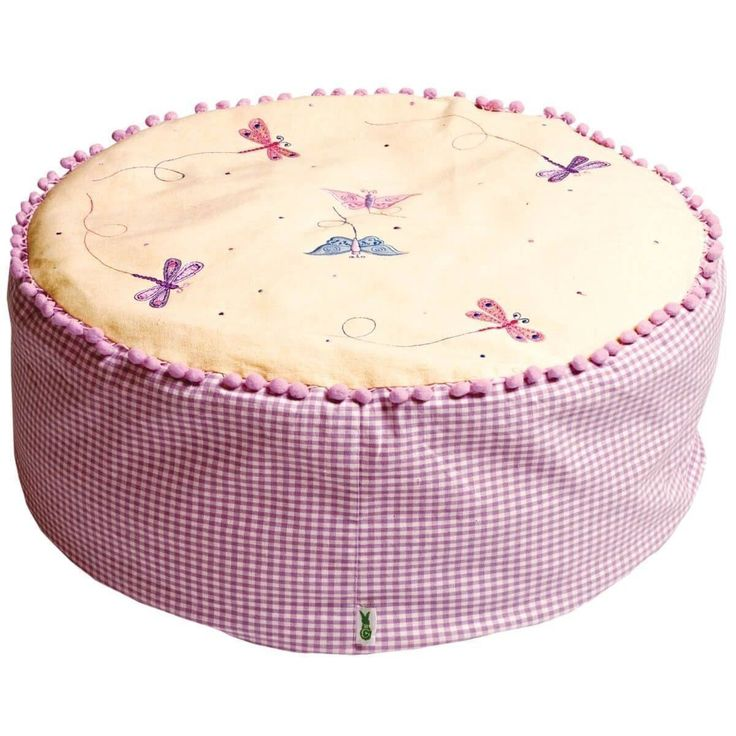 Butterfly Cottage Bean Bag