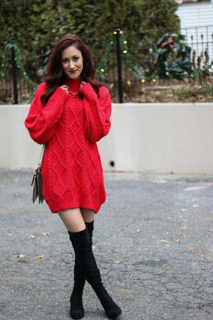 0633612604 Trend to Try  Sweater Dresses + 40 Sweater Dresses to Shop this ...