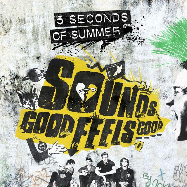 5SOS Sounds Good Feels Good album cover - Sugarscape.com