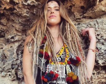 Light Blonde Dreadlocks Day of the Dreads by DAYOFTHEDREAD