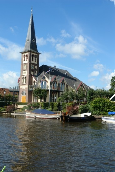 kerk in Woudsend omgebouwd tot woning