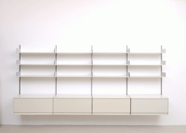 Vintage 606 Shelving Unit by Dieter Rams for Vitsoe, 1960s for sale at Pamono