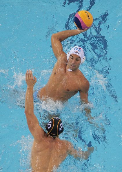 Alex Gorgietti, 24, of Italy quit Water Polo due to depression. He's back and was voted Most Valuable Player in the 2011 World Championships where he lead his team to the final.