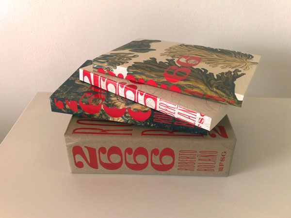 Gorgeous literary box set: 2666 by Roberto Bolano, designed by Charlotte Strick.