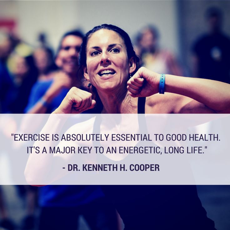 do you agree exercise is absolutely essential to good health its a major key to an energetic long life home personal training pinterest