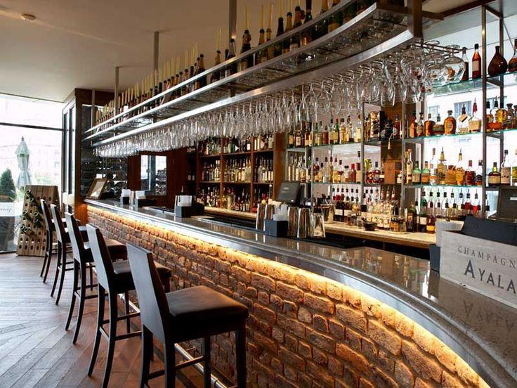 Bar design google search restaurant ideas pinterest for Commercial wine bar design ideas