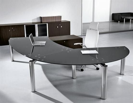 Modern Office Desk Furniture best 25+ curved desk ideas on pinterest | desk with shelves, desk