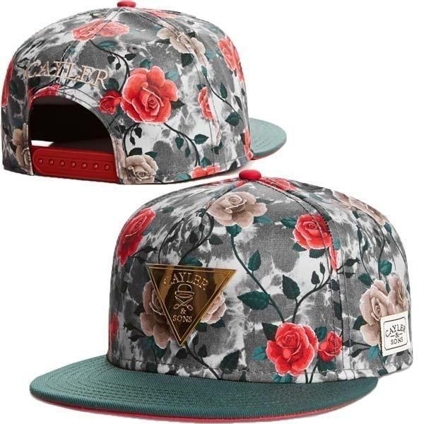 shopRedCar7 for Cayler & Sons Snapbacks caps classic men's hip hop baseball NBA Camo hats CS16 HUSTLE blackyler & Sons cotton/acrylic twill snapback