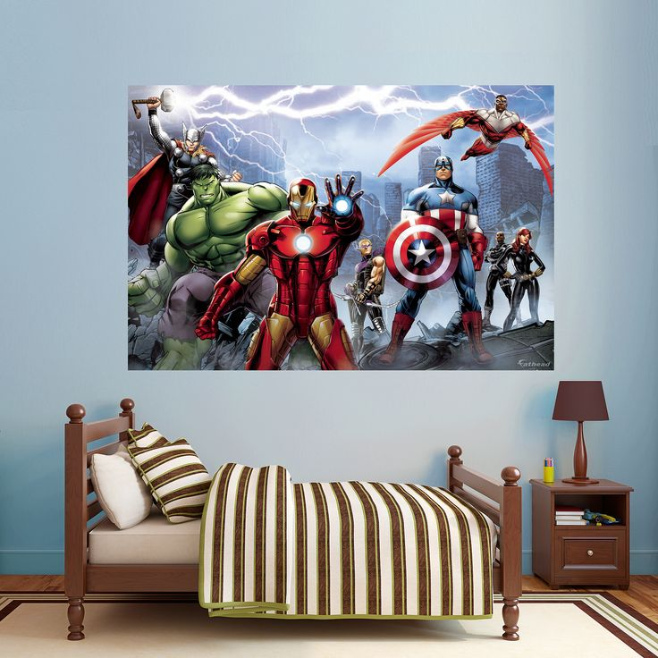 Marvel Bedroom Decor: 1000+ Ideas About Avengers Bedroom On Pinterest