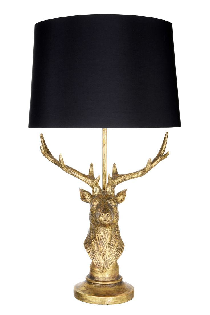 Living By Christiane Lemieux Beautiful Stag Lamp