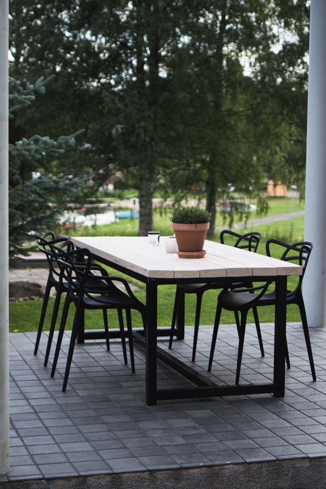 DIY-pöytä terassille?
