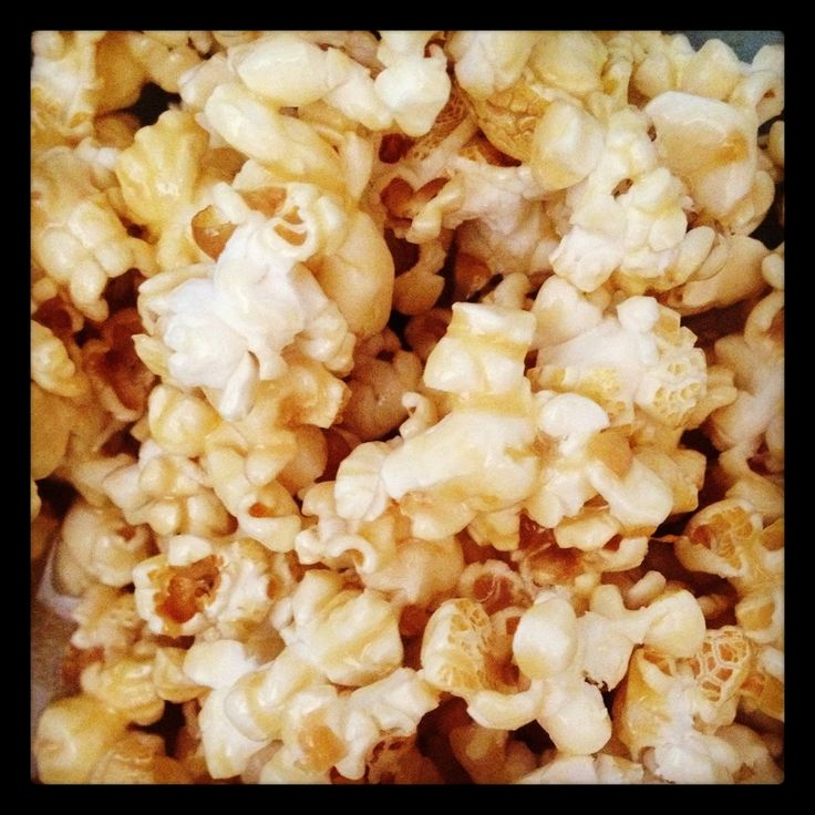 Fast, easy and cheap carmel popcorn recipe! This took less than 5 minutes to make and we couldn't get enough of it!
