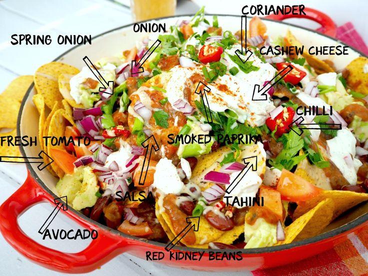 vegie head vegan nachos