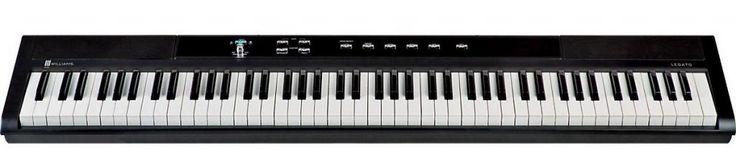 Williams Legato 88-Key Digital Piano is a state-of-the-art digital piano that offers you excellent sound quality and experience. It is also highly portable and compact size keyboard that one can carry along with complete ease and convenience.