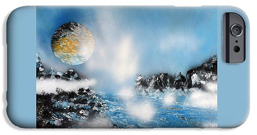 Light Rain IPhone 6s Case Printed with Fine Art spray painting image Light Rain by Nandor Molnar (When you visit the Shop, change the orientation, background color and image size as you wish)