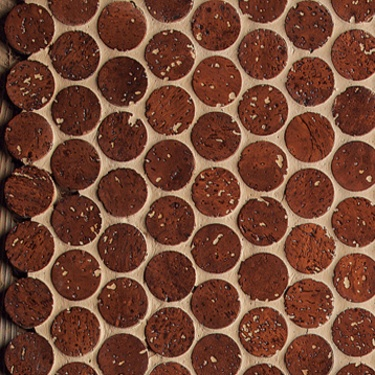 cork flooring made from wine bottle stoppers