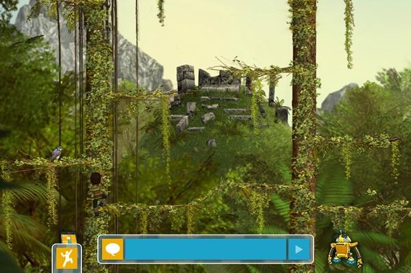 Perfect Earth Amazon Rainforest stone ruins