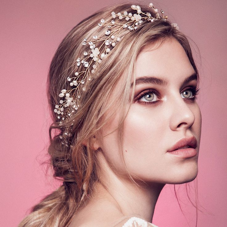 DAPHNE HEADPIECE - OLIVIA HEADPIECES  - 1