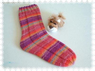 Free Knitting Pattern - Adult Slippers & Socks: Tube Socks
