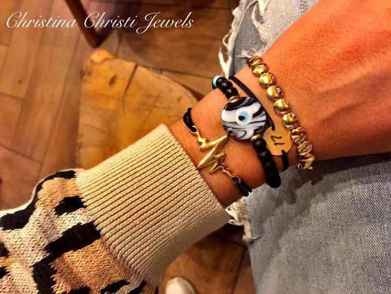 Gold Plated 24k 2017 Bracelet New Year's by ChristinaChristiJls