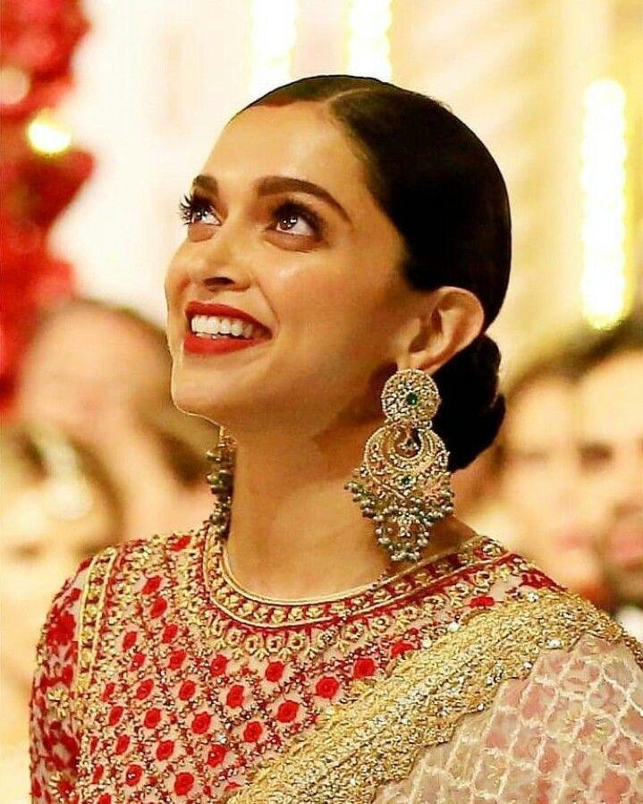 Beauty Queen Big Earrings Deepika Padukone Style Deepika Padukone