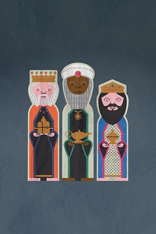 Three Kings by Dan Brindley printout