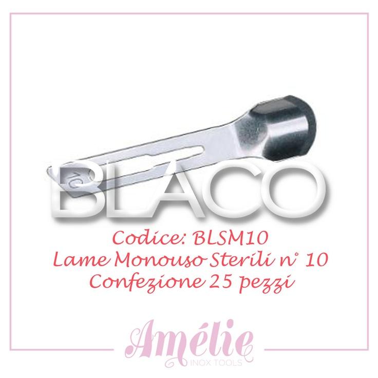 Amelie inox tools sgorbia box 25pz num. 10