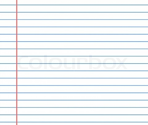 Best Lined Paper Images On   Article Writing