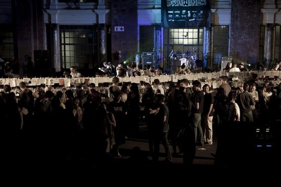 Night of a 1000Drawings 2009, Old Park Station Concourse, Johannesburg