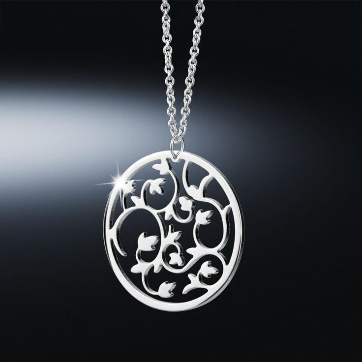 Newbridge Silverware Jewellery - Bloom Pendant Was £33.00 Now ££16.50.