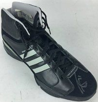 Tim Duncan Signed Autographed Game Issued Shoe Sneaker w/ Gpops PSA/DNA