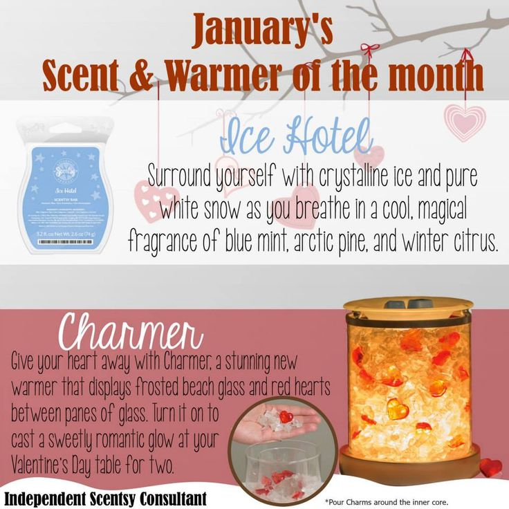 WOW! Check out the gorgeous Scent and Warmer of the Month for January 2015 <3 Available 1/1/15 at a 10% discount during they're promotional month! #JustAWickAway #Scentsy