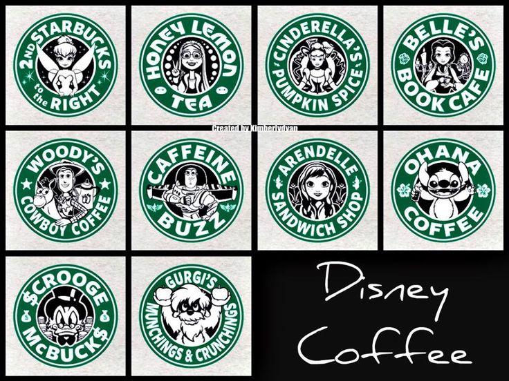Disney Coffee ~ created by Kimberlydyan
