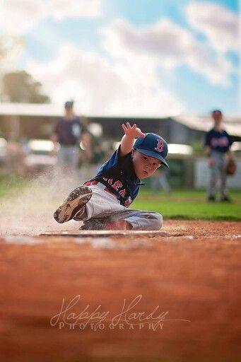 Happy Hardy Photography little league baseball portrait photos