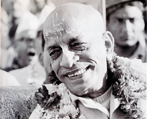 """I am the servant of everyone."" Our position is to be dasa-dasanudasah–servant of the servant of the servant of Krsna. -His Grace A.C. Bhaktivedanta Swami Prabhupada"