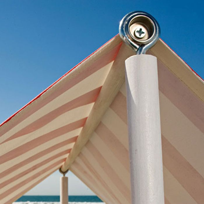 Beach tent frame how to