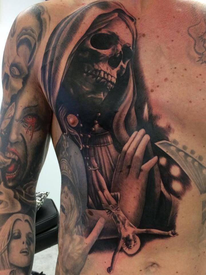 112 best Muerte Tattoos images on Pinterest | Inspiration tattoos ...