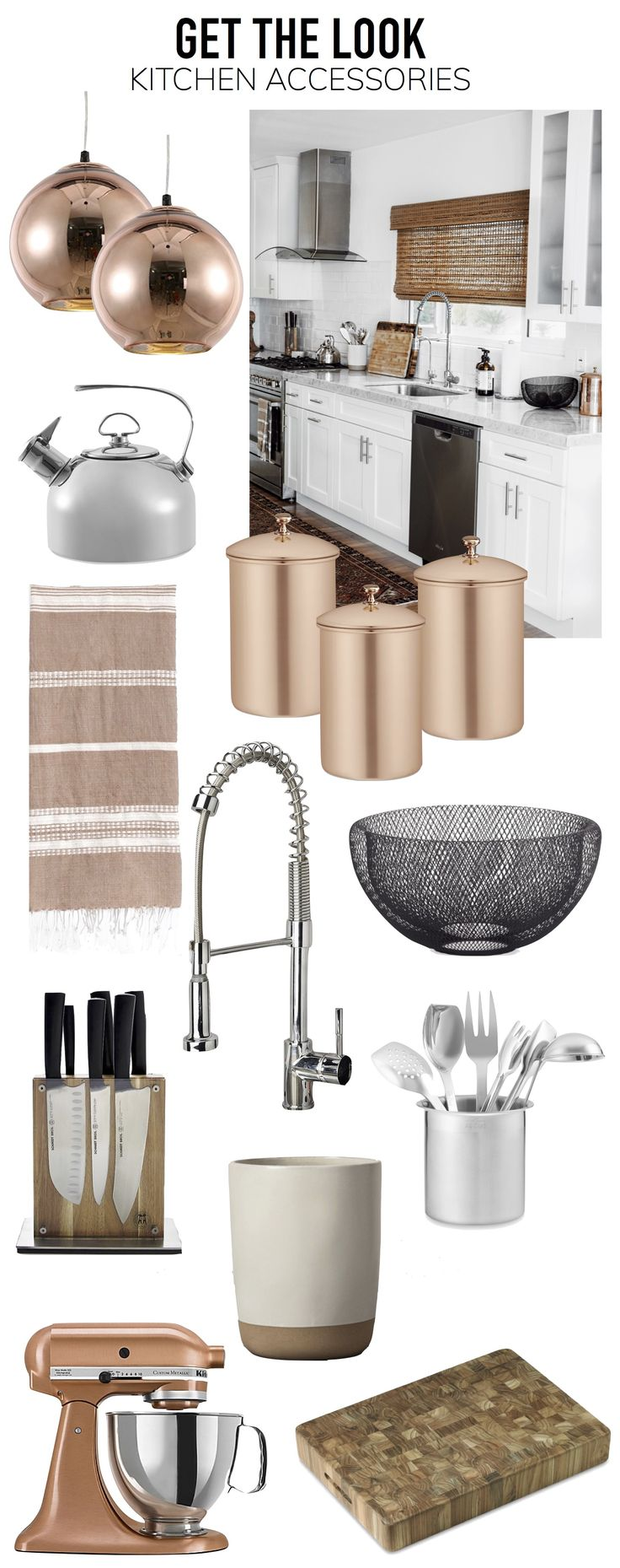 Best 25+ Copper Kitchen Accessories Ideas On Pinterest
