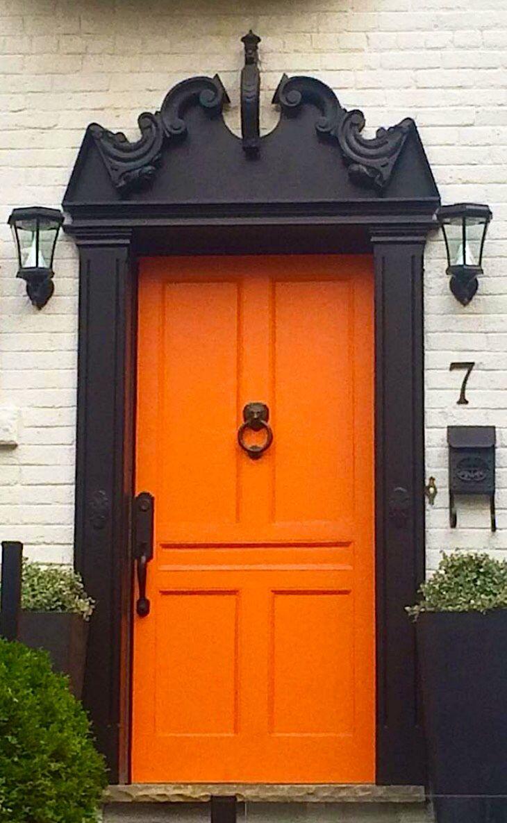 Best 25+ Orange door ideas on Pinterest   Orange front ...