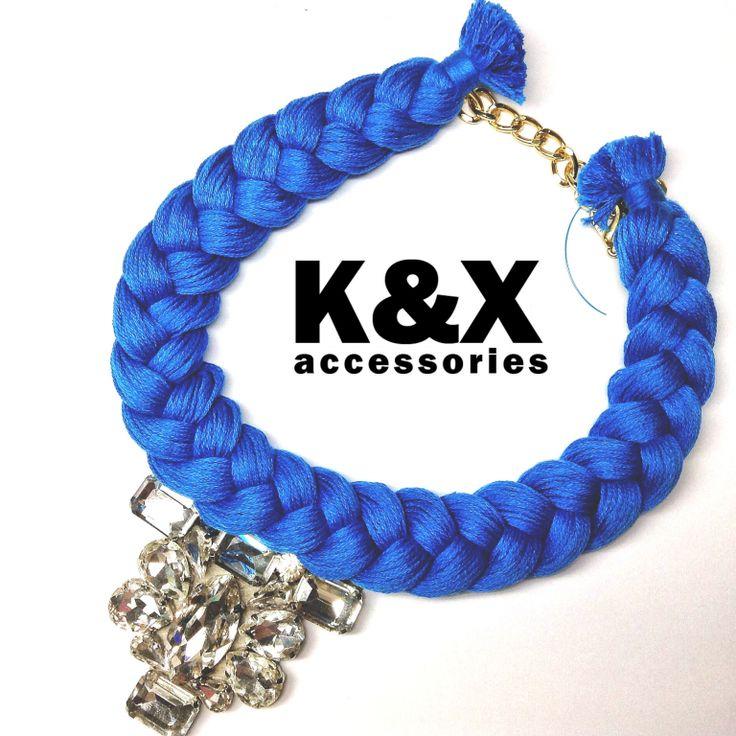 Vegas blue  112 USD Made in Ukraine. Ready to order! #onlinestore #kxfashion #statementnecklace #ukraine #odessa #rainbow #kxvegas #blue #necklace #fashion #Jewelry #glam #fashion #handmade
