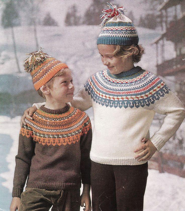 60 best Children's Knitting Patterns Vintage images on Pinterest ...