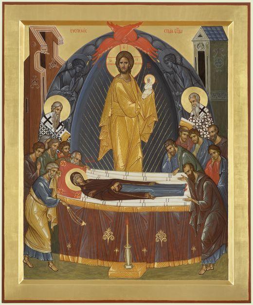 Dormition [Falling Asleep] of the Theotokos   Успение Богородицы