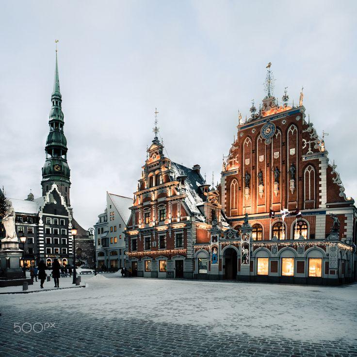 House of the Blackheads, Riga #2 - House of the Blackheads in the old town of Riga, Latvia. Дом Черноголовых - памятник архитектуры XIV века, находится в самом центре Риги.