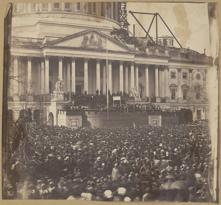 Inauguration of Abraham Lincoln.  -- March 4, 1861